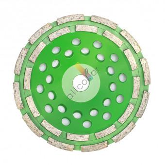 Dia-Schleifteller Type 2-reihig Körnung grob