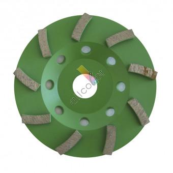 Dia-Schleifteller Type Spirox Körnung grob