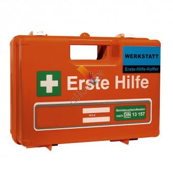 Erste-Hilfe-Koffer für die Werkstatt