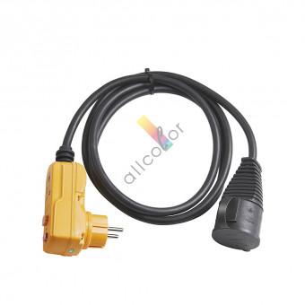 Schutzadapterleitung FI IP44