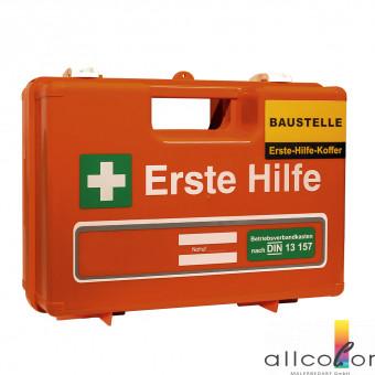 Erste-Hilfe-Koffer für die Baustelle