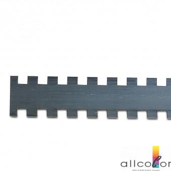 Zahnleiste Viereckzahnung, C1, 280 mm