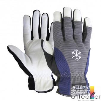 Ziegenleder-Winterhandschuh